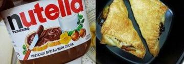 Een heerlijke zoete verwennerij: Airfryer Nutella banaan flappen