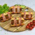 Deze Airfryer gehaktbroodjes omwikkeld met spek wil je gewoon eens proberen!